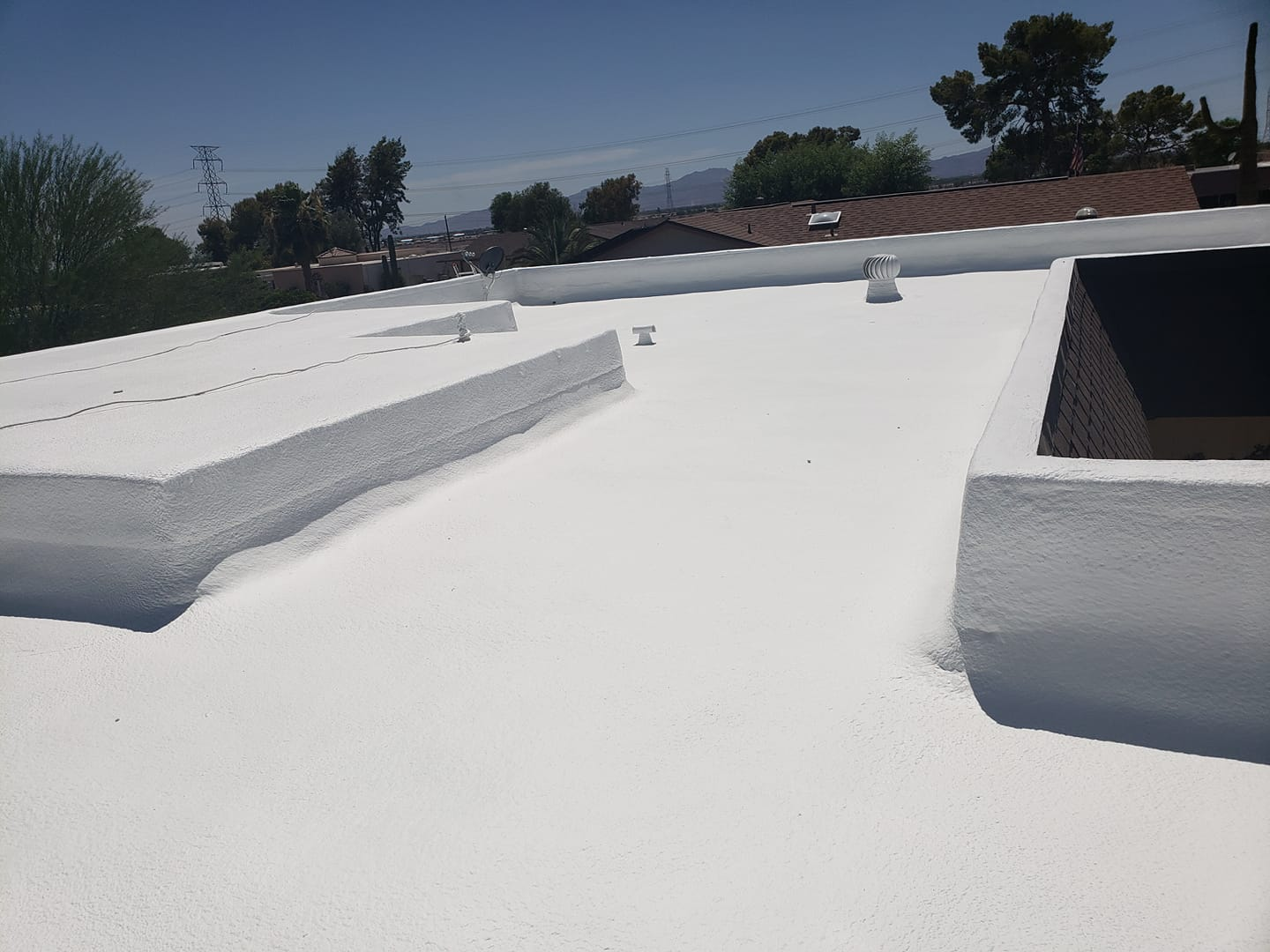 What Is A Foam Roof December 2019